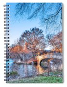 The Bow Bridge In Central Park Spiral Notebook