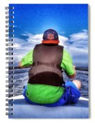 The Bow Rider Spiral Notebook
