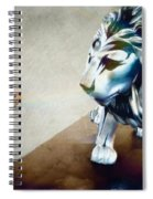 The Boy And The Lion 10 Spiral Notebook