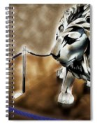 The Boy And The Lion 13 Spiral Notebook