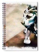 The Boy And The Lion 9 Spiral Notebook