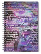 The Boy Who Lived Among The Star Spiral Notebook