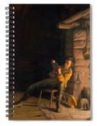 The Boyhood Of Lincoln Spiral Notebook
