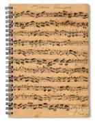 The Brandenburger Concertos Spiral Notebook