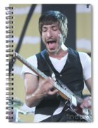 The Bravery Michael Zakarin Spiral Notebook