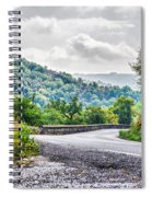 The Breath Of Autumn Spiral Notebook