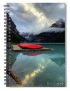 The Breathtakingly Beautiful Lake Louise II Spiral Notebook