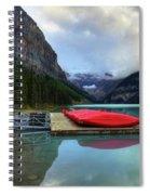 The Breathtakingly Beautiful Lake Louise IIi Spiral Notebook