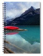 The Breathtakingly Beautiful Lake Louise Iv Spiral Notebook