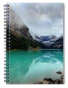 The Breathtakingly Beautiful Lake Louise Vi Spiral Notebook