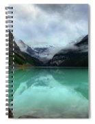 The Breathtakingly Beautiful Lake Louise Viii Spiral Notebook