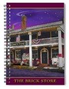 The Brick Store Spiral Notebook