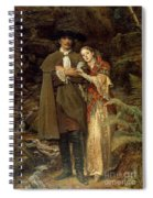 The Bride Of Lammermoor Spiral Notebook