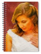 The Bride To Be Spiral Notebook