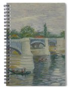The Bridge At Courbevoie Paris, May - July 1887 Vincent Van Gogh 1853  1890 Spiral Notebook