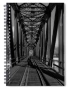 The Bridge At Mile 225 Spiral Notebook