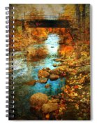 The Bridge By Government Street Spiral Notebook
