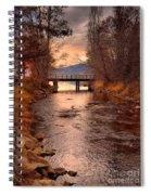 The Bridge By The Lake Spiral Notebook