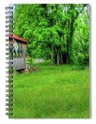 The Bridge Of Farmhouse Gallery Spiral Notebook