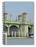 The Bridge Of Lions Spiral Notebook