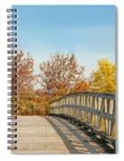 The Bridge To Autumn Spiral Notebook