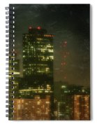 The Bright City Lights Spiral Notebook