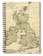 The British Isles Spiral Notebook
