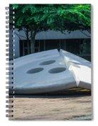 The Broken Button - University Of Pennsylvania Spiral Notebook