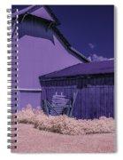 The Broken Fence Spiral Notebook