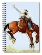 the Bronc Buster Spiral Notebook
