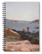 The Bronx Rocky Shore Spiral Notebook