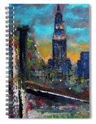The Brooklyn Bridge Spiral Notebook