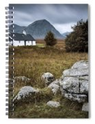 Blackrock And The Buachaille Spiral Notebook