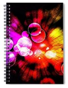 The Bubble Universe Spiral Notebook