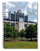 The Buckeye Grove Around Ohio Stadium Spiral Notebook