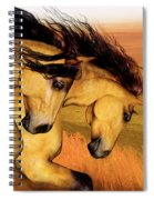 The Buckskins Spiral Notebook
