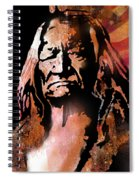 The Buffalo Hunter Spiral Notebook