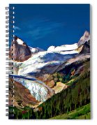 The Bugaboos Spiral Notebook
