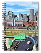 The Buildings Of Boston Spiral Notebook