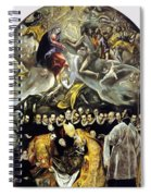 The Burial Of The Count Of Orgaz 1587 Spiral Notebook