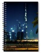 The Burj Khalifa  Spiral Notebook