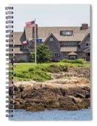 The Bush Compound Kennebunkport Maine Spiral Notebook