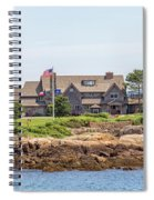 The Bush Family Compound On Walkers Point Spiral Notebook