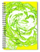 The Cabbage Rose Spiral Notebook