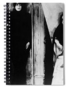 The Cabinet Of Dr.caligari Spiral Notebook