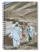 The Calling Of St. Andrew And St. John Spiral Notebook