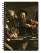 The Calling Of St. Matthew Spiral Notebook