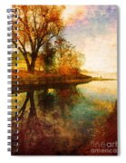 The Calm By The Creek Spiral Notebook