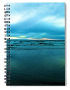 The Calm Of The Ocean Spiral Notebook