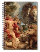 The Calydonian Boar Hunt Spiral Notebook